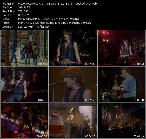 John Cafferty And The Beaver Brown Band HQ Videoclip «Tough All Over»