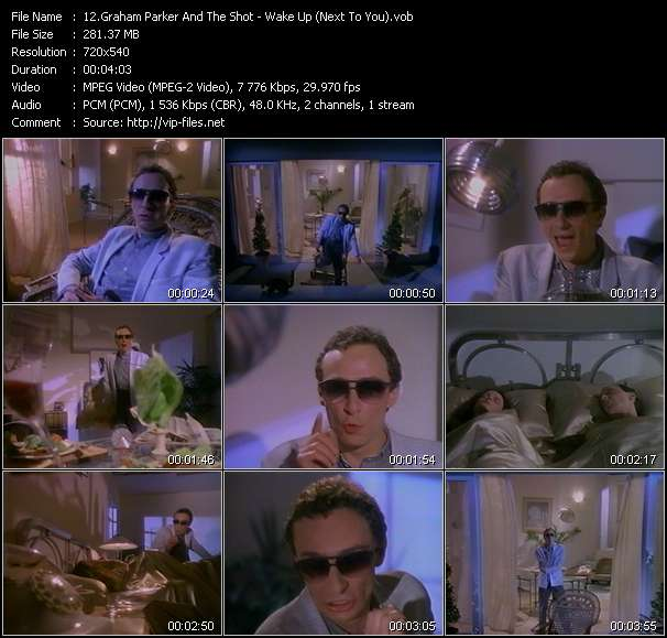 Graham Parker And The Shot HQ Videoclip «Wake Up (Next To You)»