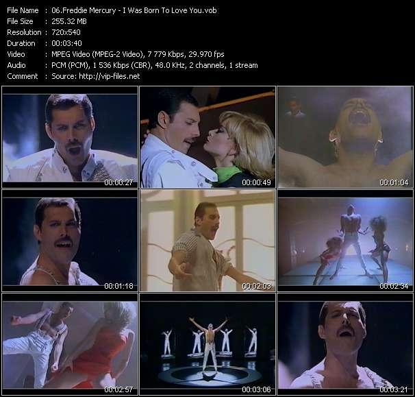 Freddie Mercury HQ Videoclip «I Was Born To Love You»