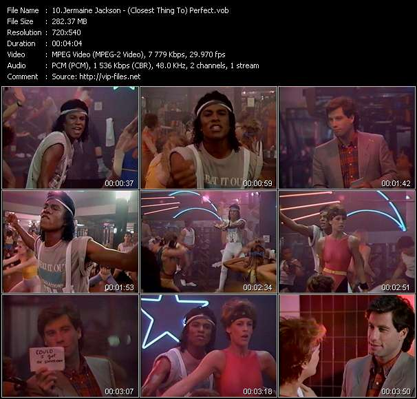 Jermaine Jackson HQ Videoclip «(Closest Thing To) Perfect»