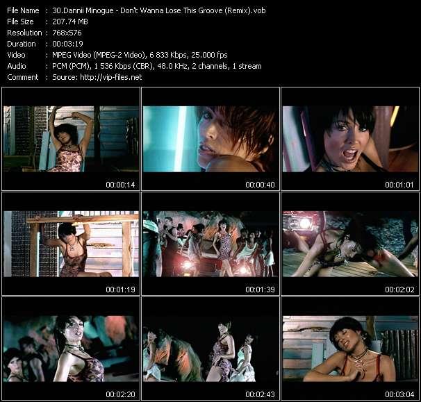 Dannii Minogue HQ Videoclip «Don't Wanna Lose This Groove (Remix)»