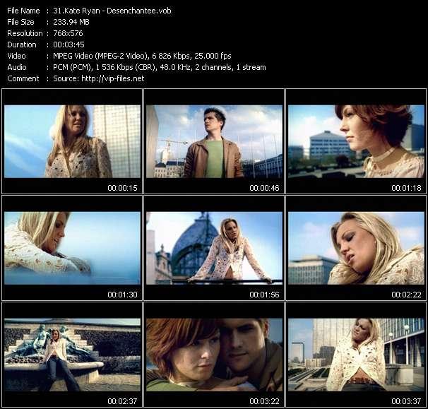 Kate Ryan HQ Videoclip «Desenchantee»