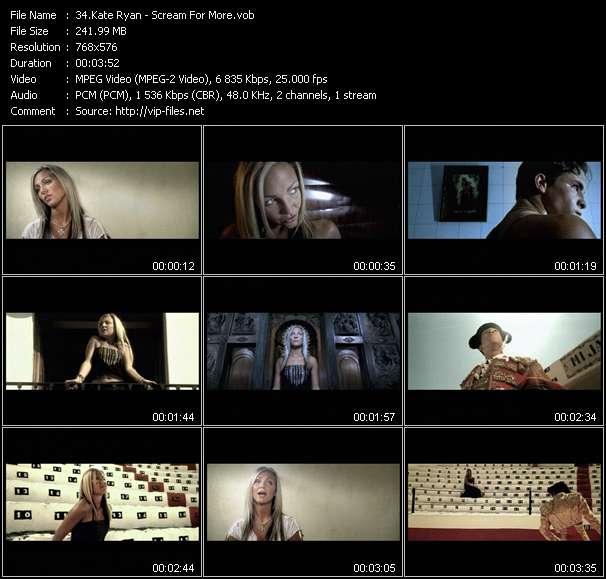 Kate Ryan HQ Videoclip «Scream For More»