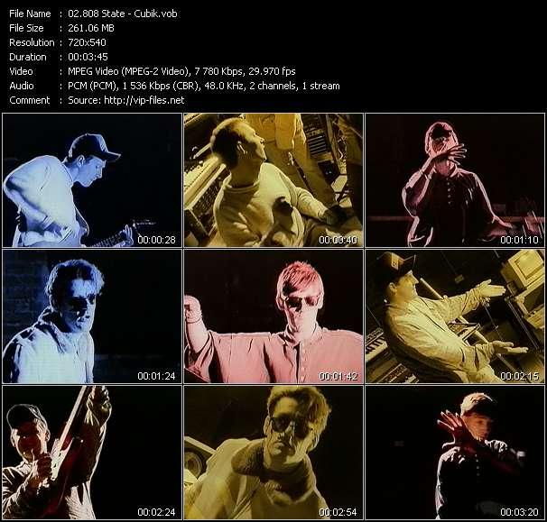 808 State HQ Videoclip «Cubik»