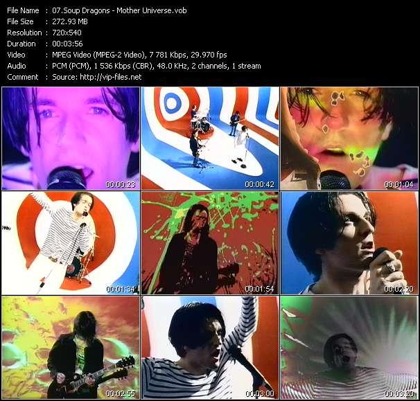Soup Dragons HQ Videoclip «Mother Universe»