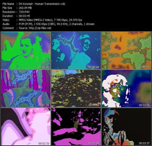 Konzept HQ Videoclip «Human Transmission»