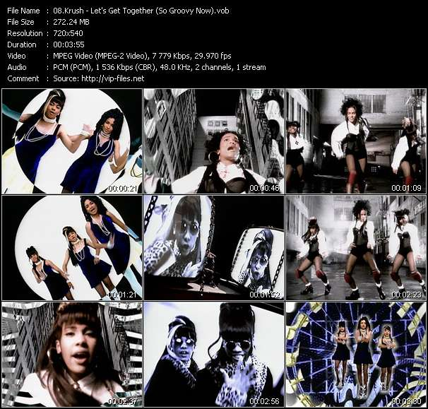 Krush HQ Videoclip «Let's Get Together (So Groovy Now)»
