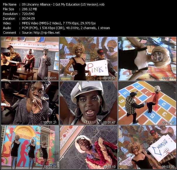 Uncanny Alliance HQ Videoclip «I Got My Education (US Version)»