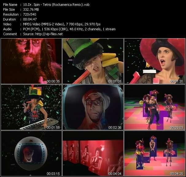 Dr. Spin HQ Videoclip «Tetris (Rockamerica Remix)»