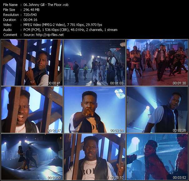 Johnny Gill HQ Videoclip «The Floor»