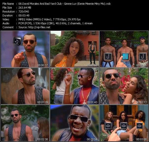 David Morales And Bad Yard Club HQ Videoclip «Gimme Luv (Eenie Meenie Miny Mo)»