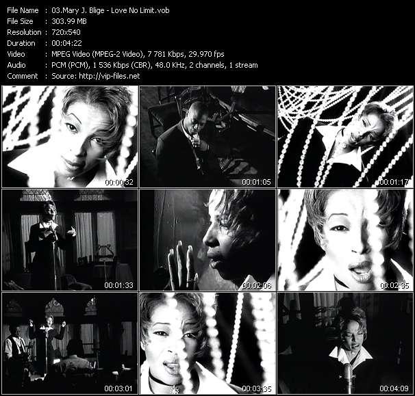 Mary J. Blige HQ Videoclip «Love No Limit»