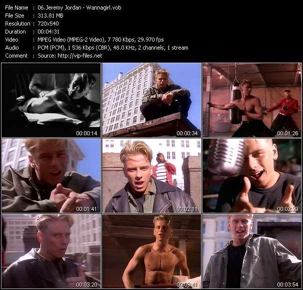 Jeremy Jordan HQ Videoclip «Wannagirl»