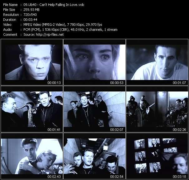 Ub40 HQ Videoclip «Can't Help Falling In Love»