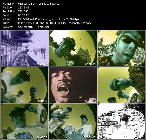 Beastie Boys HQ Videoclip «Jimmy James»