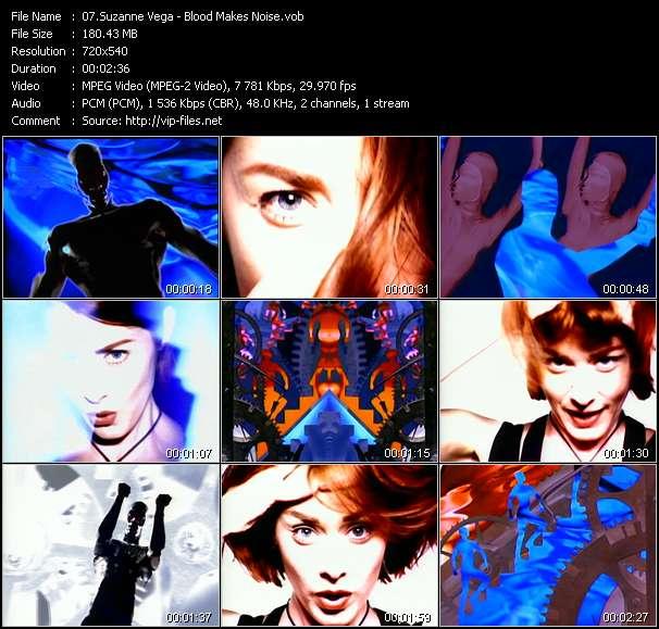Suzanne Vega HQ Videoclip «Blood Makes Noise»