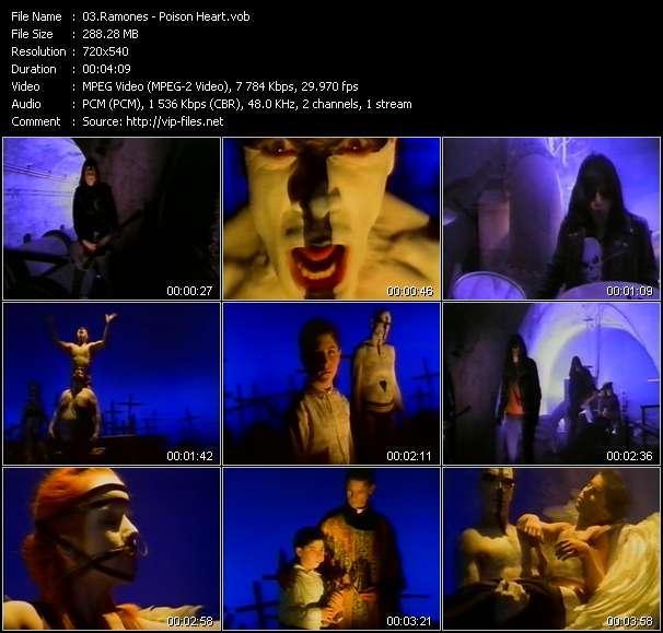 Ramones video - Poison Heart