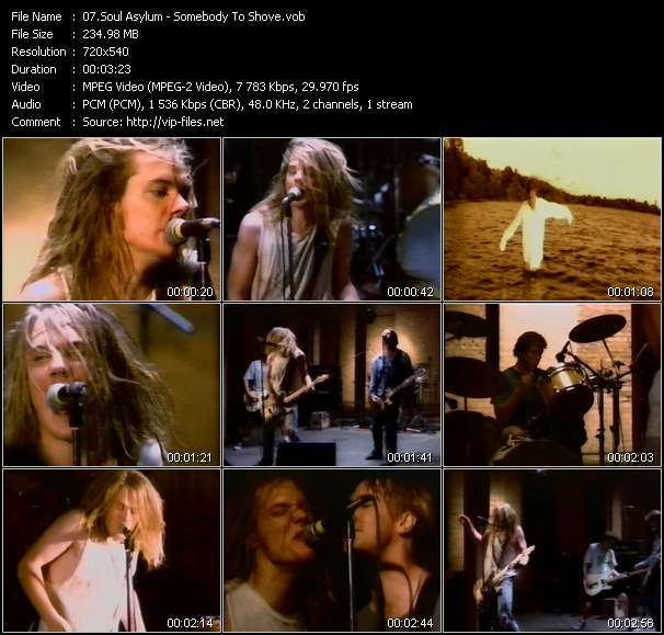 Soul Asylum HQ Videoclip «Somebody To Shove»