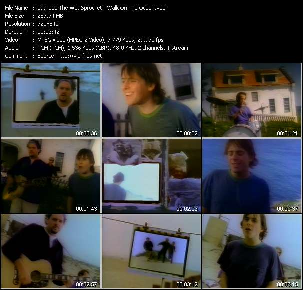 Toad The Wet Sprocket video - Walk On The Ocean