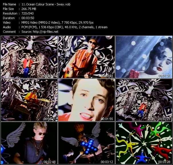 Ocean Colour Scene HQ Videoclip «Sway»