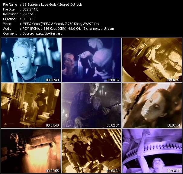 Supreme Love Gods HQ Videoclip «Souled Out»