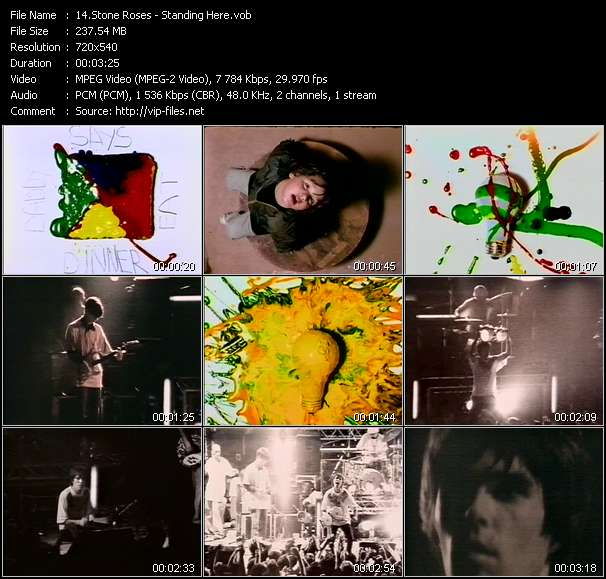 Stone Roses HQ Videoclip «Standing Here»