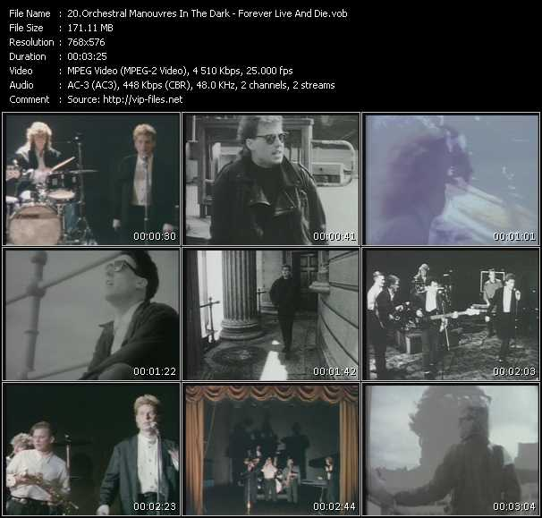 O.M.D. (Orchestral Manoeuvres In The Dark) video - Forever Live And Die