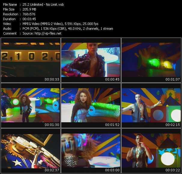 2 Unlimited video - No Limit