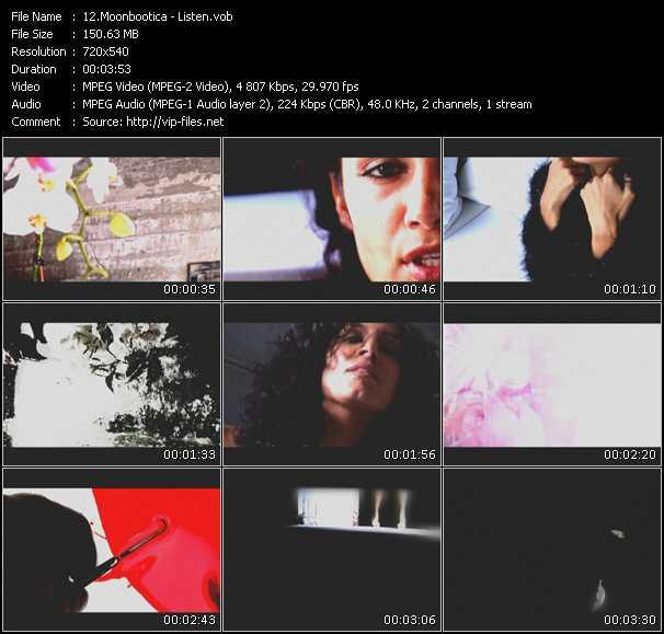Moonbootica video - Listen