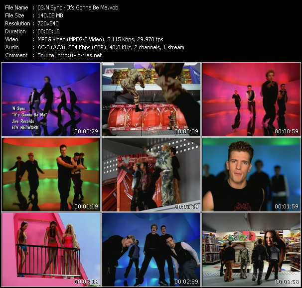 N'Sync video - It's Gonna Be Me
