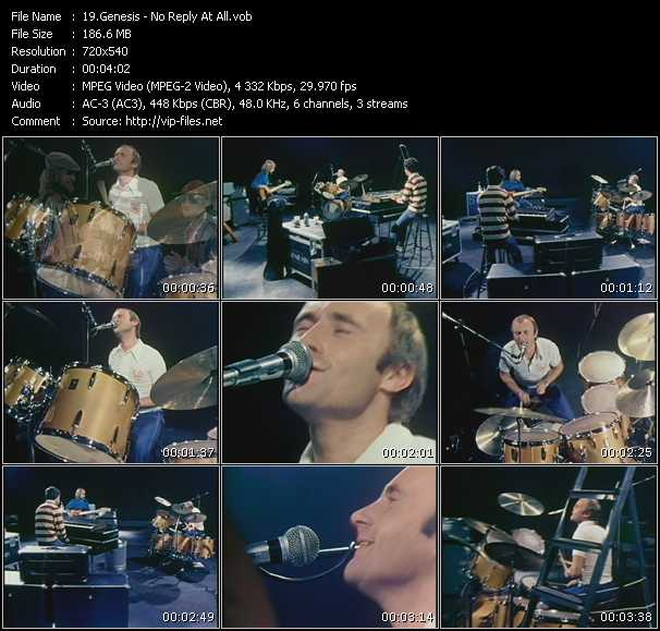 Genesis-No-Reply-At-All_Music_Video_Clip_15878.html