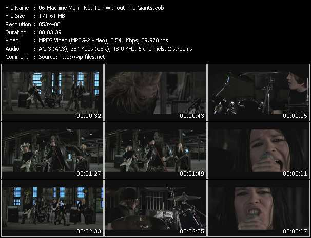 Machine Men music video Publish2