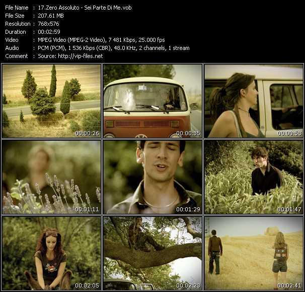 Zero Assoluto music video Publish2