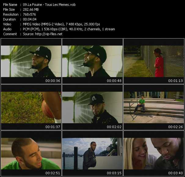 La Fouine music video Publish2