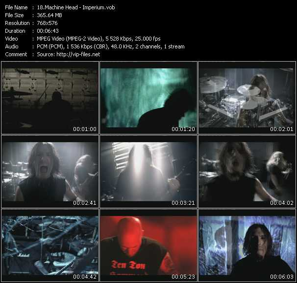 Machine Head video - Imperium