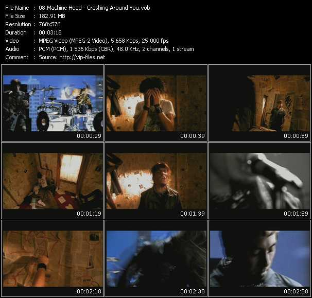 Machine Head video - Crashing Around You
