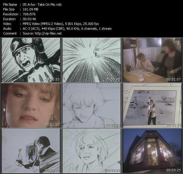 A-Ha music video Keep2share