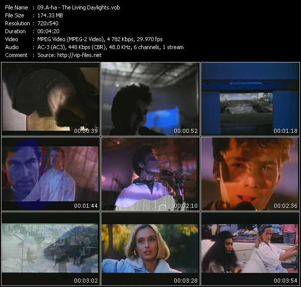 A-Ha video - The Living Daylights