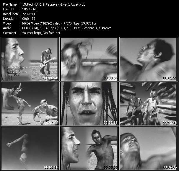 Red Hot Chili Peppers video - Give It Away