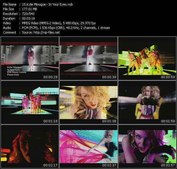 Kylie Minogue video - In Your Eyes