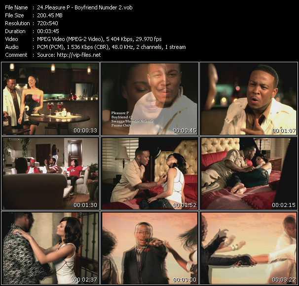 Pleasure P video - Boyfriend Numder 2
