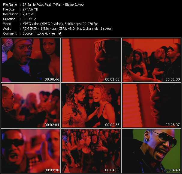 Jamie Foxx Feat. T-Pain video - Blame It