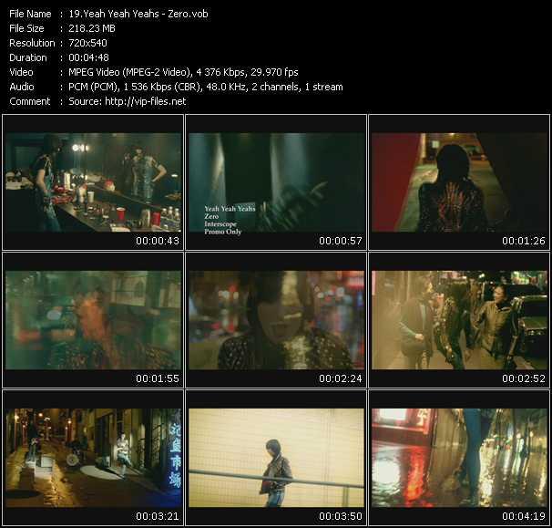 Yeah Yeah Yeahs music video Publish2