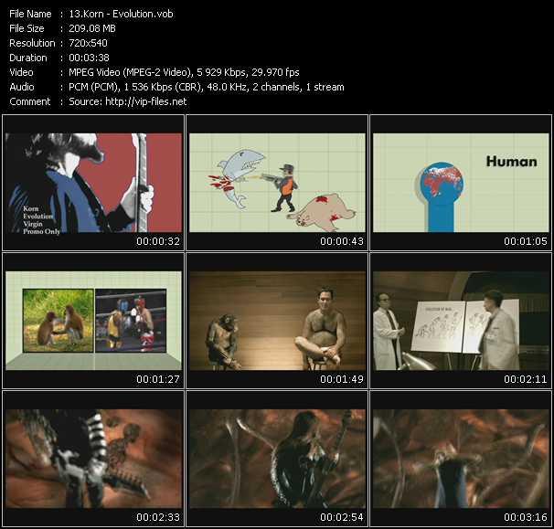 Korn video - Evolution