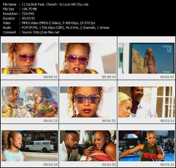 Da Brat Feat. Cherish video - In Love Wit Chu