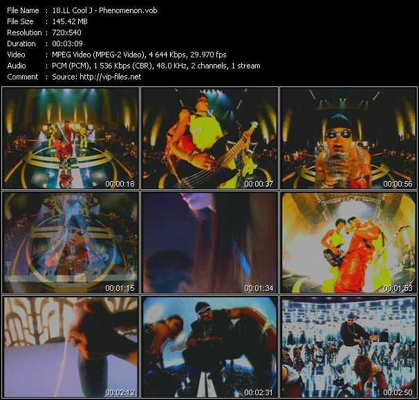 LL Cool J video - Phenomenon