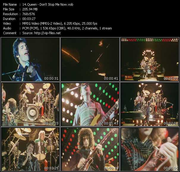 Queen video - Don't Stop Me Now