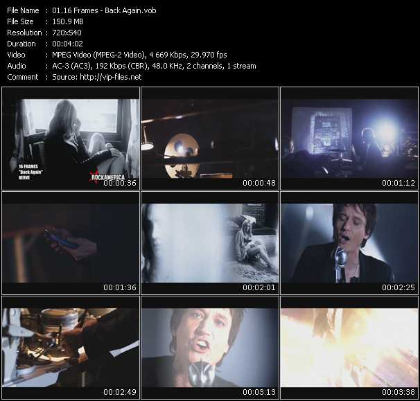 16 Frames music video Publish2