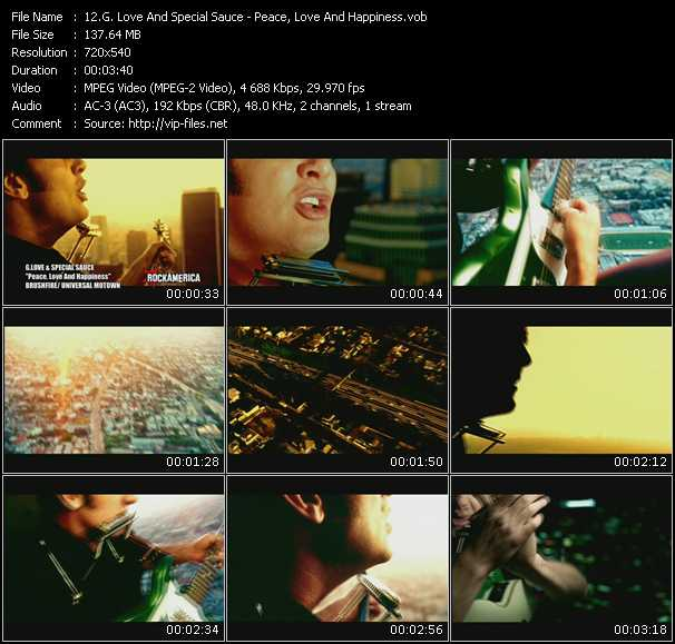 G. Love And Special Sauce music video Publish2