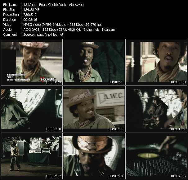 K'Naan Feat. Chubb Rock video - Abc's